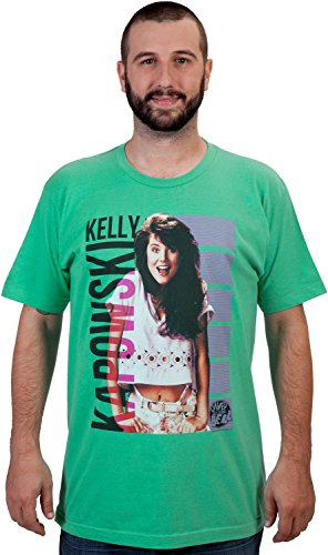 Saved By The Bell Kelly Kapowski T-Shirt Lime