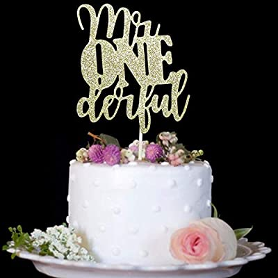 Sensational 1St Birthday Cake Topper Mr Onederful For One Year Old Boy Baby Personalised Birthday Cards Cominlily Jamesorg