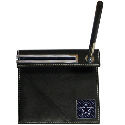 Nfl Business Card Holder - NFL Dallas Cowboys Gridiron Desk Set