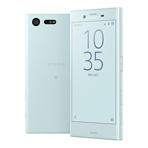 Sony Xperia X Compact F5321 32GB 4.6 Inch 23MP 4G LTE FACTORY UNLOCKED - International Stock No Warranty (MIST BLUE)