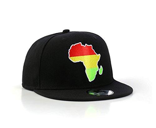 (Underground Kulture Africa Snapback Black Baseball Cap)