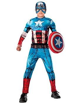 DISBACANAL Disfraz Capitán América Vengadores Unidos niño - -, 8 ...