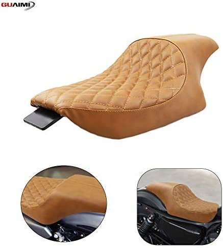 GUAIMI Driver Front Rear Passenger Seat Two Up for Harley Dvidson Fortyeight 20102016 Seventytwo 20102016 Sportster 1200 883 Models
