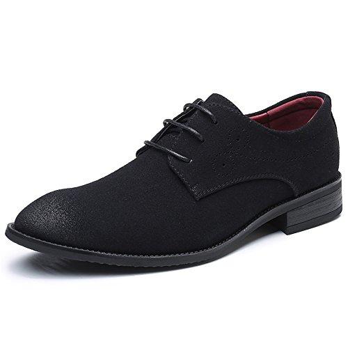 Aardimi Oxfords Lace Schuhe Schnürhalbschuhe Hochzeit Herren Business Ups Schwarz Modische Anzug Derby taFaq