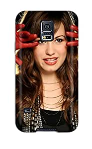 Diushoujuan 1938810K22356510 Premium Demi Lovato Widescreen Back Cover Snap On Case For Galaxy note4