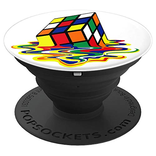 Cube Birthday Glass (CUBE RUBIC MAGICO AWESOME POP SOCKET - PopSockets Grip and Stand for Phones and Tablets)
