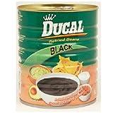 Ducal Bean Refried Black 29 OZ (Pack of 12)