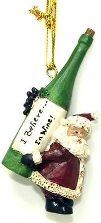 Very Small! Set of 3 Mini Santa Figurines by Bert Anderson