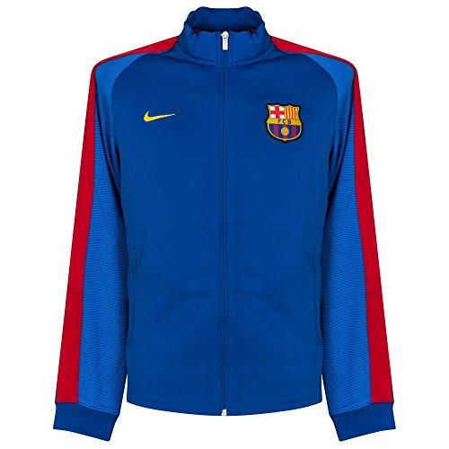 nike mens fc barcelona n98 track jacket sport royal. Black Bedroom Furniture Sets. Home Design Ideas
