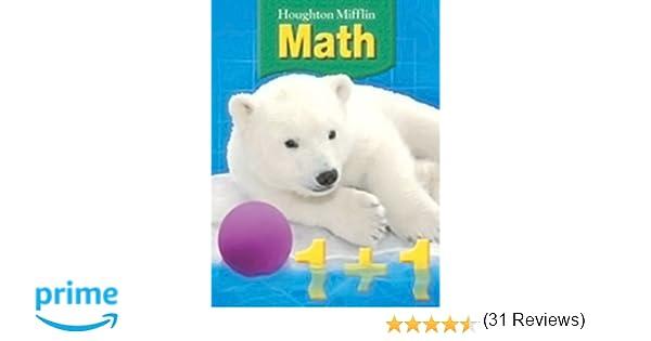 Houghton Mifflin Math (Grade 1): Carole Greenes: 9780618590919 ...