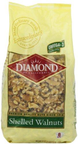 Diamond Of California Shelled Walnuts  32 Ounce