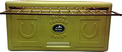High Country Plastics Slow Feeder, One Size, Tan and Brown