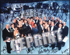 Star Trek Cast Member's 30 Year Anniversary Celebration 11x14 Cast Signed Autographed Photo Reprint