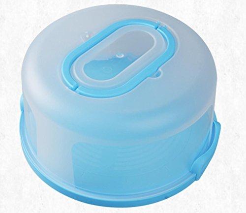 KELER Portable Cake Box Round Baking Cake Box by KELER