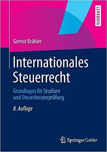 Umwandlungssteuerrecht Grundlagen fuumlr Studium und Steuerberaterpruumlfung German Edition
