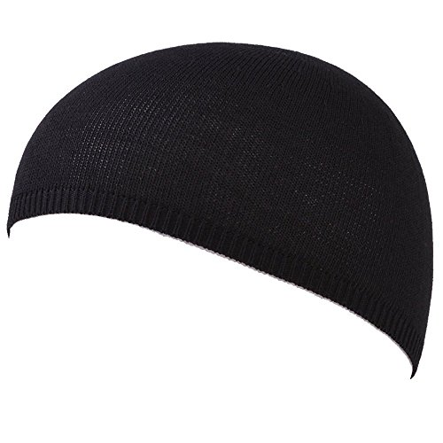 Casualbox Mens Cool Max Sports Skull Cap Beanie Hat Made in Japan Black,Free Size