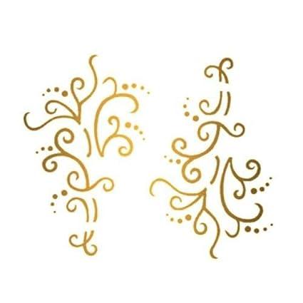 Addttoo - Tatuaje, diseño de espirales: Amazon.es: Belleza