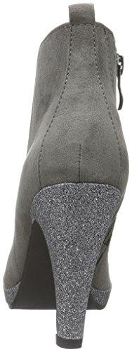 25363 Grey Comb Femme Classiques Tozzi Marco 221 Bottes Gris RxY5FUnqw