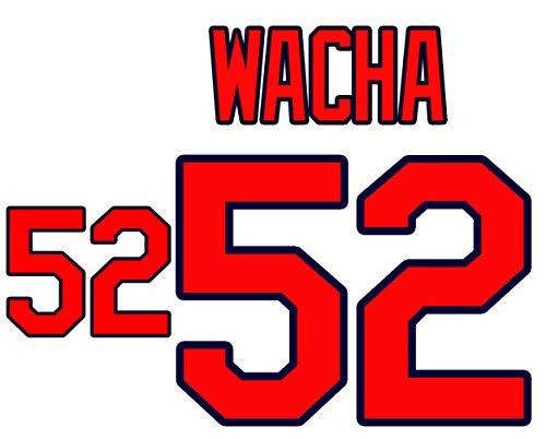 (Michael Wacha St. Louis Cardinals Jersey Number Kit, Authentic Home Jersey Any Name or Number Available)