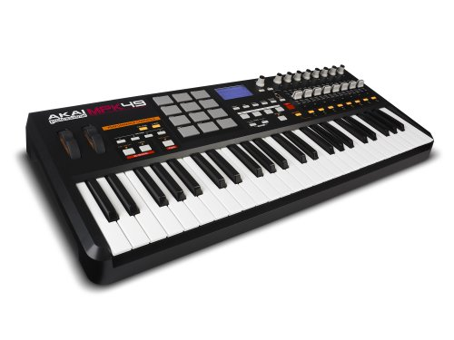 Akai Professional MPK49 | 49-Key USB MIDI Keyboard Controller with MPC Pads