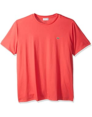 Men's Short Sleeve Jersey Pima Regular Fit Crewneck T-Shirt, Th6709-51