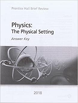 prentice hall brief review physics answer key