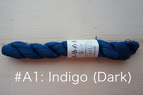 Sashiko Thread | Hand Dyed with Natural Indigo (A1: Dark ()