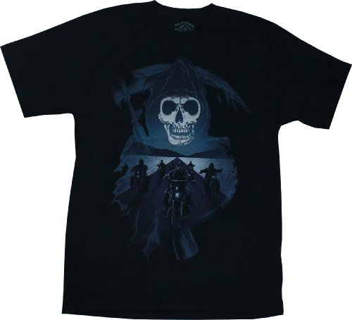 Sons of Anarchy Men's Reaper And Desert Highway T-shirt