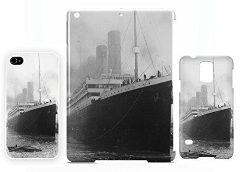 Titalnic White Star Line Launch iPhone 4 / 4S cellulaire cas coque de téléphone cas, couverture de téléphone portable