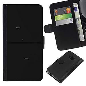 KLONGSHOP // Tirón de la caja Cartera de cuero con ranuras para tarjetas - Pong juego - HTC One M7 //
