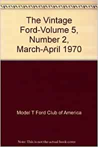 march april 1970 model t ford club of america books. Cars Review. Best American Auto & Cars Review