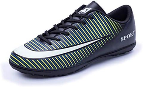 専門家サッカー サッカー スパイク メンズ レディース サッカーシューズ トレーニングシューズ 滑り止め 緑 グリーン 25.5cm