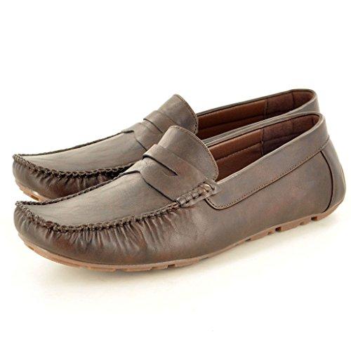 My Perfect Pair Zapatos de Cordones Para Hombre Marrón Marrón Oscuro YSC4nGTq