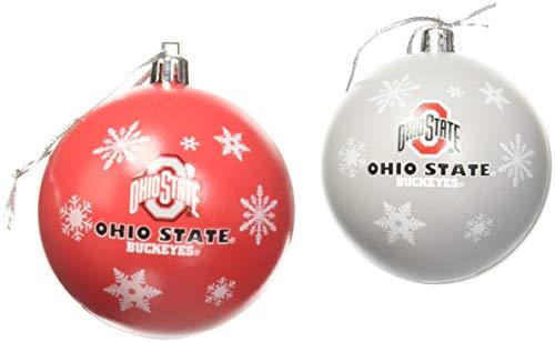Ohio State 2016 5 Pack Shatterproof Ball Ornament Set
