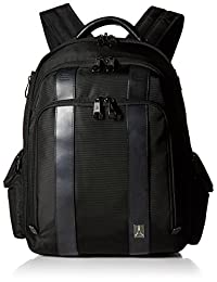 Travelpro Executive Choice Crew Checkpoint Friendly 17 Inch Computer Backpack, Black, One Size