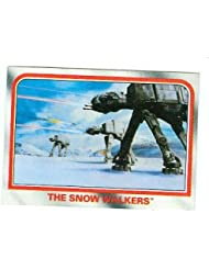 Star Wars Empire Strikes Back trading card 1980 Topps #43 At At Walkers Imperial Snow Walkers