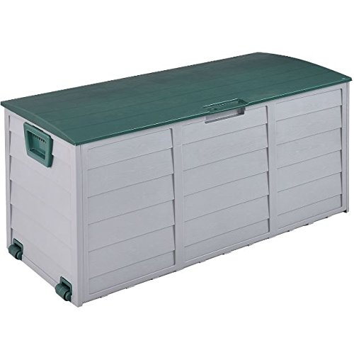 eXXtra Store 70 Gallon Outdoor Deck Storage Box 44'' Garage Patio Shed Tool Bench Container + eBook by eXXtra Store (Image #3)