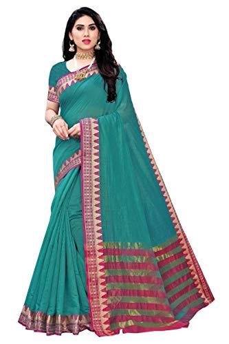 GoSriKi cotton with blouse piece Saree
