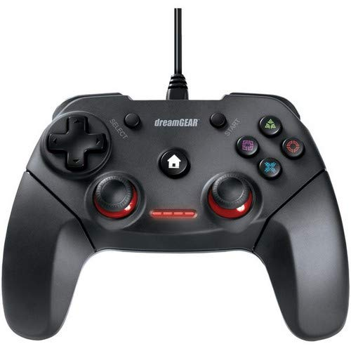 DREAMGEAR(R) Dreamgear Dgps3-3880 Shadow Wired Controller For Ps3 & Pc 7.10in. x 6.50in. x 3.40in.