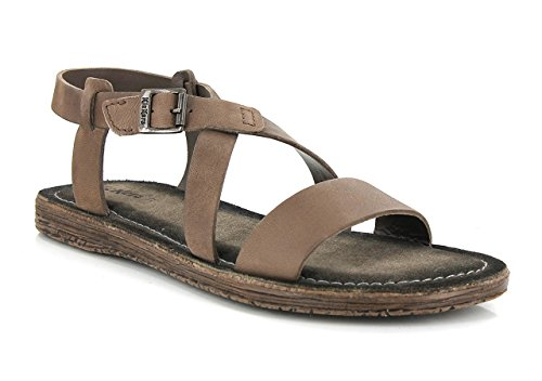 Kickers - Sandalias de Vestir de Otra Piel Mujer marrón