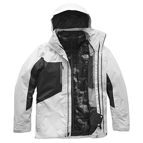 Triclimate Ski Jacket - The North Face Men's Clement Triclimate Jacket - High Rise Grey & Asphalt Grey - XL