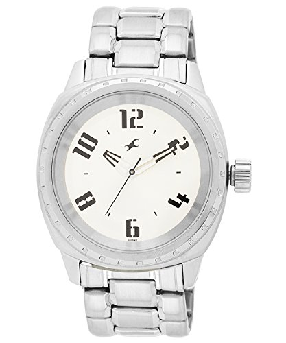 Fastrack His  amp; Hers Upgrades Analog Silver Dial Unisex Watch   3071SM03