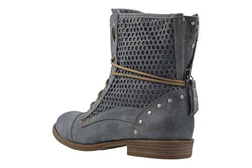 Blau Boots Women's sky 875 Mustang Combat 875 542 Blue Sky 1157 875 SqCzwZ