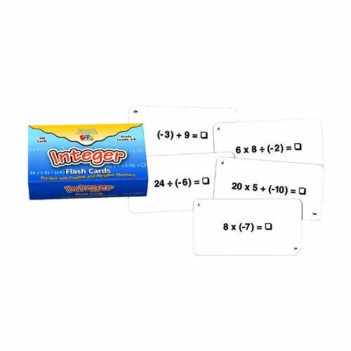 Learning Advantage Integer Flash Cards SG/_B00KQ6E01S/_US