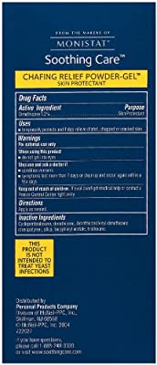 Monistat Soothing Care Chafing Relief Powder-Gel