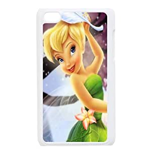 Disney Tinker Bell Clear Hard Case Cover FOR IPod Touch 4th FNWT-U897416
