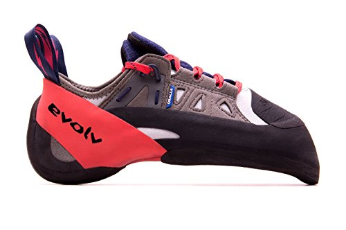 Evolv Oracle Climbing Shoe - Men's Blue/Red/Gray 10 (Oracle Shop)