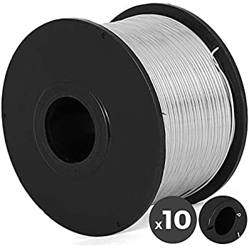Item# RT-TW21G CCTI Rebar Tie Wire 50 Pack 21 Gauge Galvanized for Automatic Tying Tool