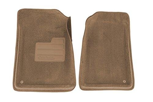 Lund 600025 Catch-All Carpet Beige Front Floor Mat - Set of (00 Cadillac Escalade Carpet)