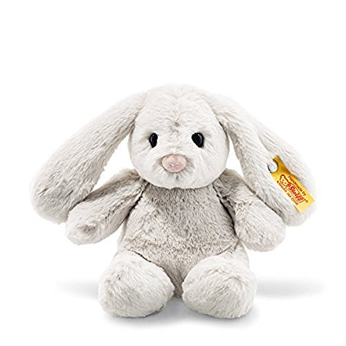 Steiff Stuffed Bunny Rabbit - Soft and Cuddly Plush Animal Toy - 8